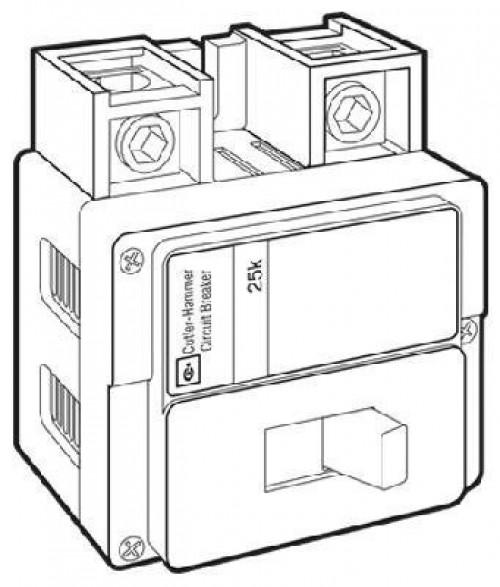 eaton corporation bwh2200 25kaic replacement circuit breaker  200