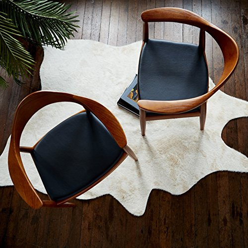 Fabulous Details About Modway Presidential Mid Century Dining Chair With Faux Leather Seat In Black Creativecarmelina Interior Chair Design Creativecarmelinacom