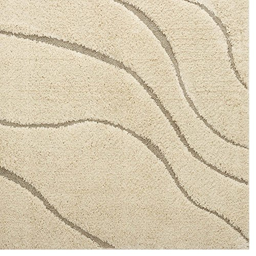 Modway R 1150a 58 Abound Abstract Swirl 5x8 Shag Area Rug