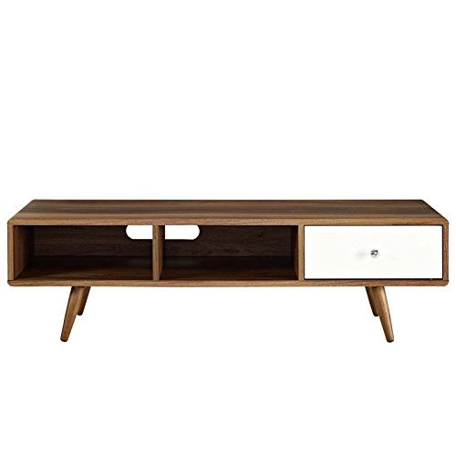 976f68b2f8d Details about Modway Transmit Mid-Century Modern Low Profile 55 Inch TV  Stand in Walnut